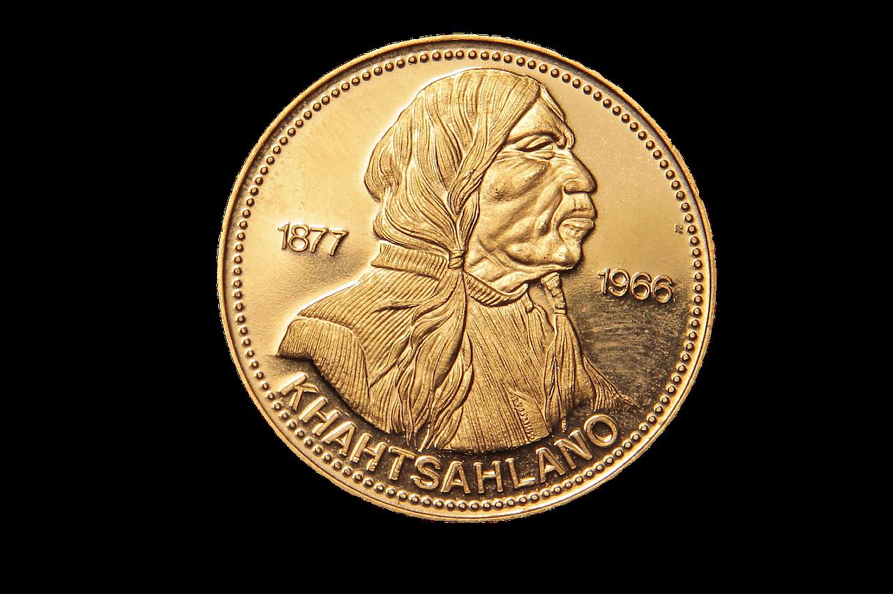 Oferta ze złotymi monetami